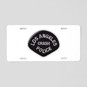 LAPD CRASH Aluminum License Plate