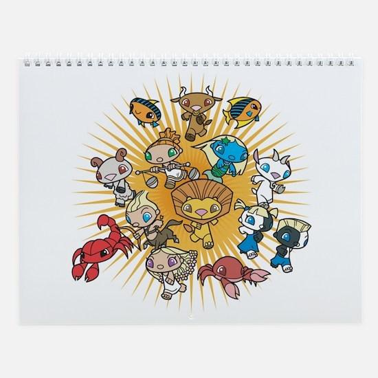 The legend Wall Calendar