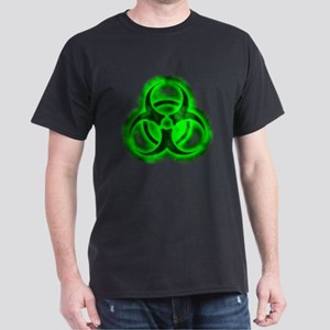 Green Glow Biohazard Dark T-Shirt