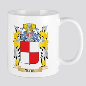 Tuite Family Crest - Coat of Arms Mugs