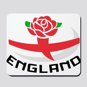 Rugby England Rose Mousepad
