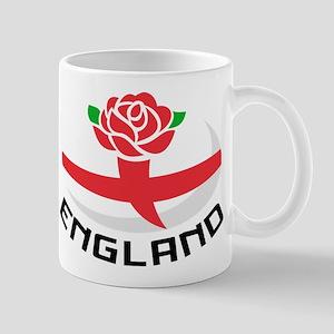 Rugby England Rose Mug