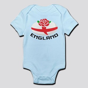 Rugby England Rose Infant Bodysuit