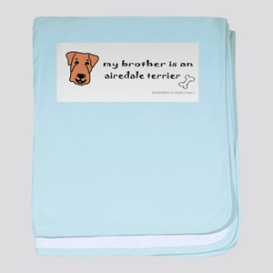 airedale gifts baby blanket