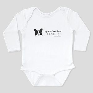 corgi gifts Long Sleeve Infant Bodysuit