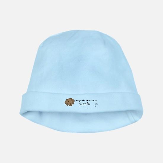 vizsla gifts baby hat
