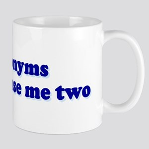 Homonyms Confuse Me Two To To Mug