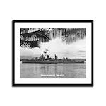USS COGSWELL Framed Panel Print