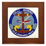 USS COGSWELL Framed Tile