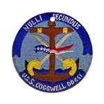 USS COGSWELL Ornament (Round)