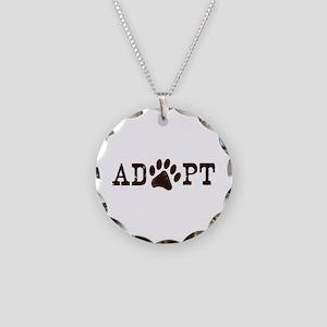 Adopt an Animal Necklace Circle Charm