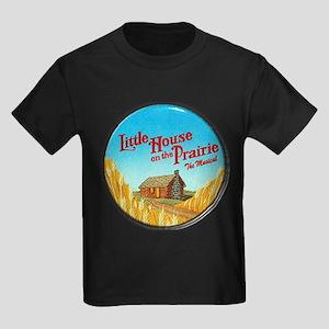House on Prairie Ingalls Kids Dark T-Shirt