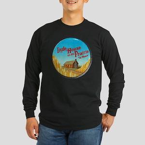 House on Prairie Ingalls Long Sleeve Dark T-Shirt