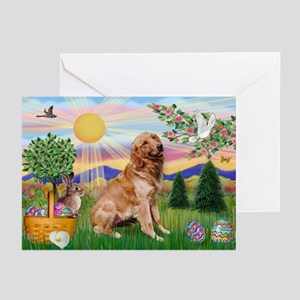 Golden Retriever Easter Greeting Cards (Pk of 10)