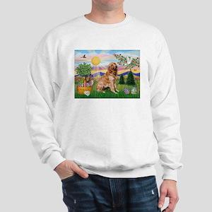 Golden Retriever Easter Sweatshirt