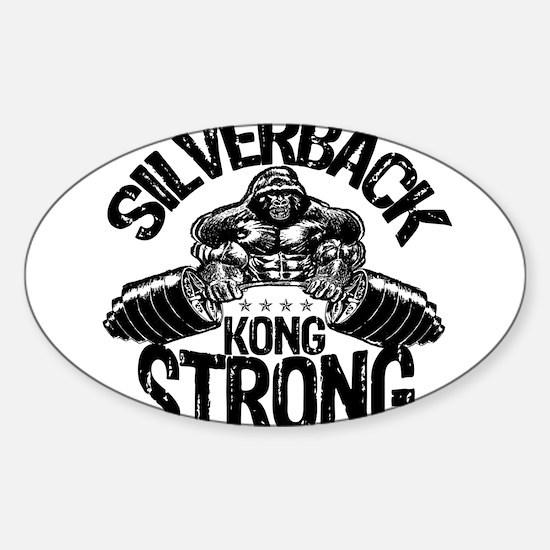 KONG STRONG Sticker (Oval)