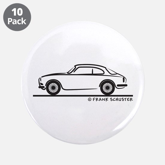 "Alfa Giulietta Sprint 3.5"" Button (10 pack)"