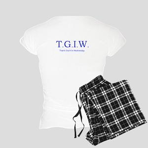 Thank God It's Wednesday! Women's Light Pajamas