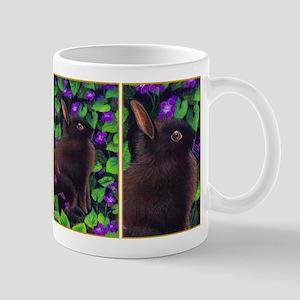 Bunny & Violets Mug