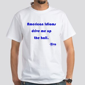 Up The Hall White T-Shirt