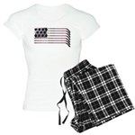 USA Hockey Flag Women's Light Pajamas