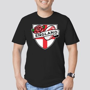 Rugby England Men's Fitted T-Shirt (dark)