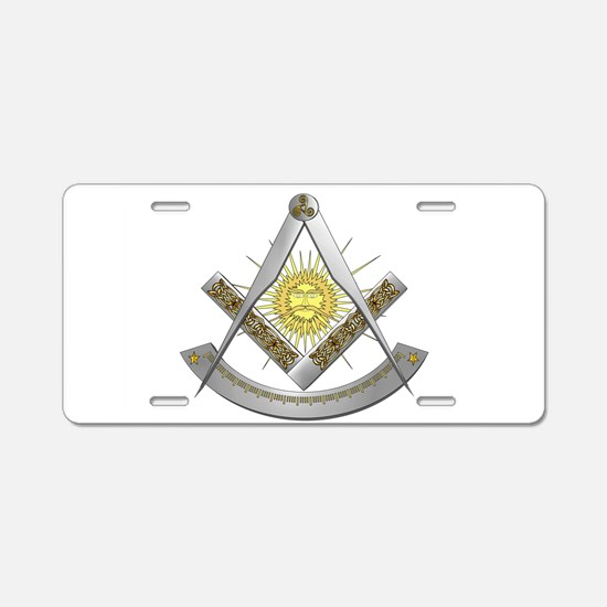 Celtic Past Master Aluminum License Plate