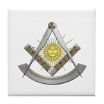 Celtic Past Master Tile Coaster