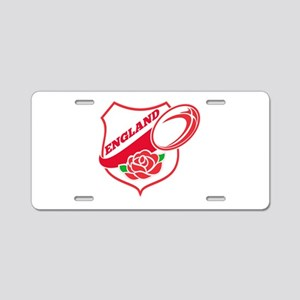 Rugby England Aluminum License Plate