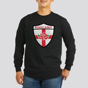 Rugby England Long Sleeve Dark T-Shirt