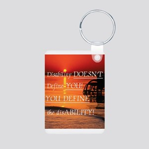 What Define's YOU! Aluminum Photo Keychain
