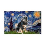 Starry - Aussie Shep (tri-L) 20x12 Wall Decal