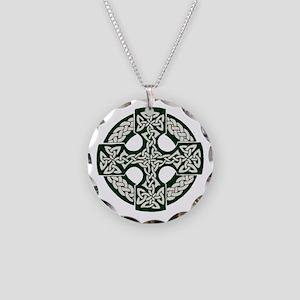 Celtic Cross Necklace Circle Charm