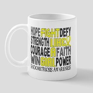 Licensed Fight Like A Girl 23.3 Endomet Mug