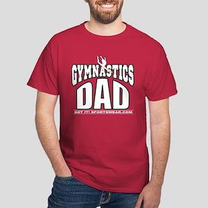 Gymnast's Dad Dark T-Shirt
