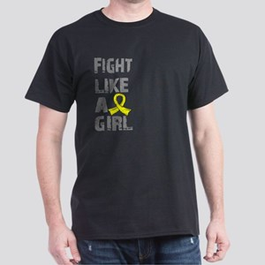 Licensed Fight Like A Girl 21.8 Endom Dark T-Shirt