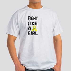 Licensed Fight Like A Girl 21.8 Endo Light T-Shirt
