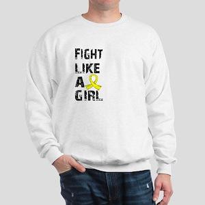 Licensed Fight Like A Girl 21.8 Endomet Sweatshirt