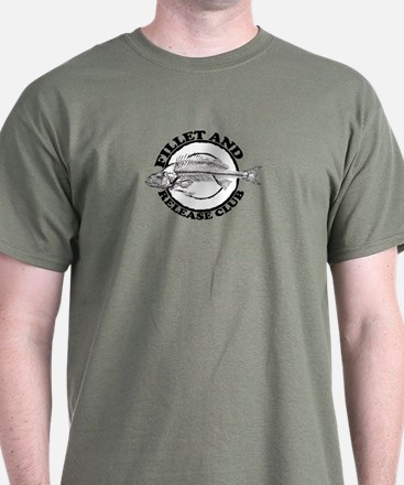 Fillet and Release Club. T-Shirt