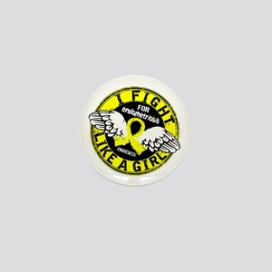 Licensed Fight Like A Girl 16.5 Endome Mini Button
