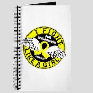 Licensed Fight Like A Girl 16.5 Endometrio Journal