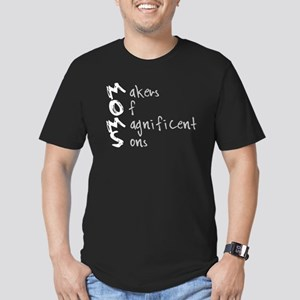 M.O.M.S. Men's Fitted T-Shirt (dark)