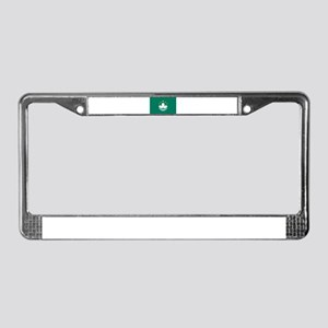 Macau License Plate Frame