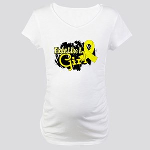 Licensed Fight Like A Girl 17.8 Maternity T-Shirt