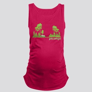 Twilight Shirt- Forks,Washington Tree Line Tank To
