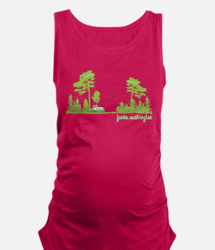 Twilight Shirt- Forks,Washington Tree Line Tank To