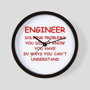 funny science joke Wall Clock