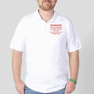 funny science joke Golf Shirt