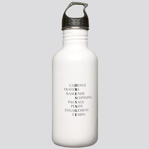 dressage language Stainless Water Bottle 1.0L