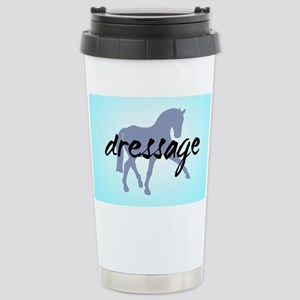 Sidepass w/ Text (blue) Stainless Steel Travel Mug
